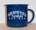 Genuine Ogallala Bay Rum Ceramic Shaving Mug