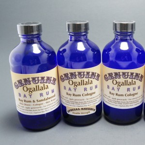 4 oz Genuine Ogallala Bay Rum Aftershave