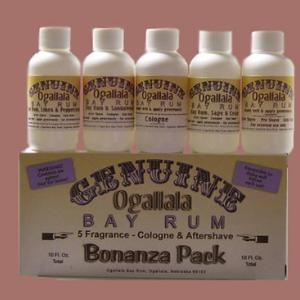 Genuine Ogallala Bay Rum Shaving Soap