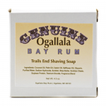 Genuine Ogallala Bay Rum and Trails End Shaving Soap