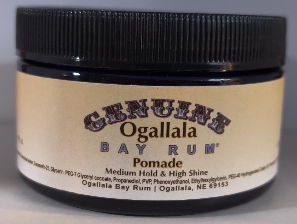 Genuine Ogallala Bay Rum Pomade