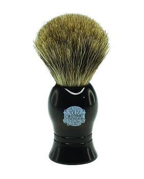 Progress Vulfix Pure Badger Shaving Brush, Black Handle